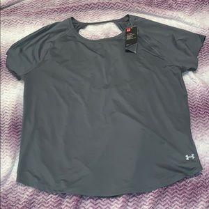 NWT UNDER ARMOUR short sleeve top